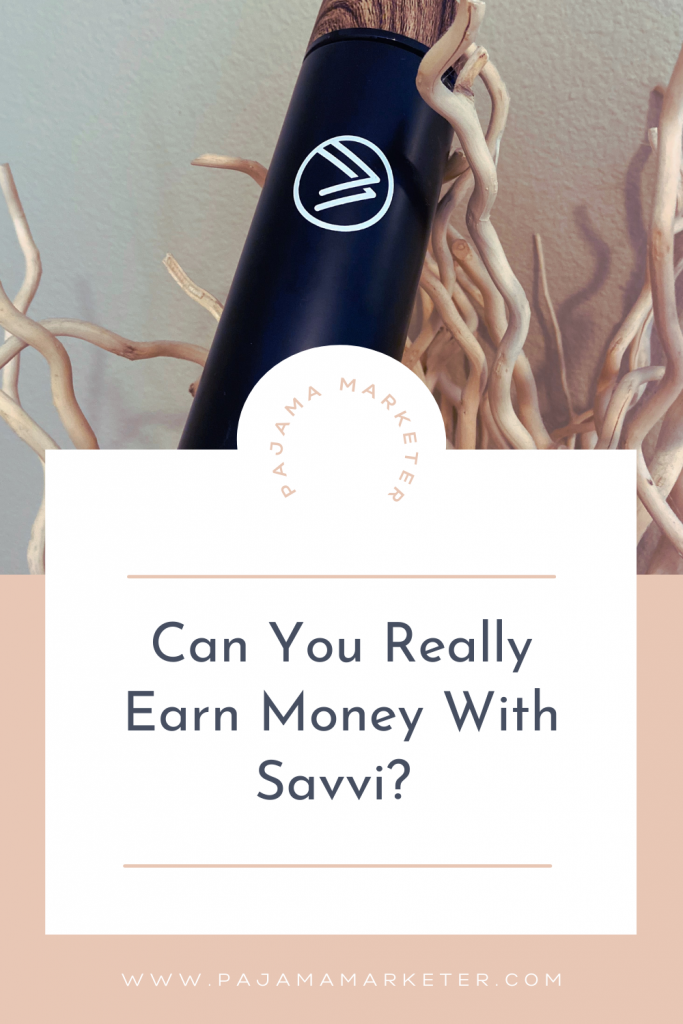 Can you earn with Savvi?